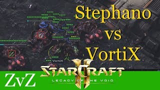 Stephano vs VortiX (ZvZ) - WCS Valencia - Starcraft 2: LotV Profi Replays [Deutsch | German]