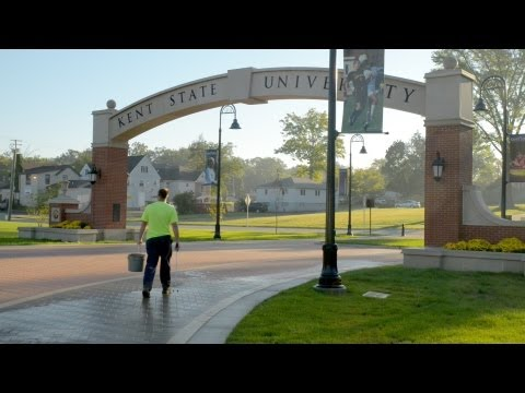 A Day in the Life of a Kent State Groundskeeper