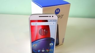 Motorola Moto G4 PLUS (White) Unboxing and Initial Impressions!