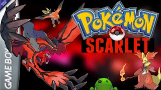 Pokemon Scarlet para Android HackRom My Boy! GBA PC