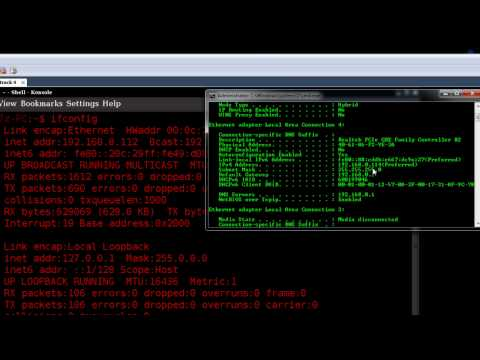 Setting Up A Network Connection In Linux (backtrack) video