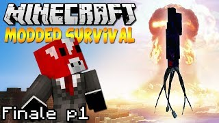 """FINALE Part 1"" Minecraft Modded ""Kill The Kraken"" Survival Ep.10"