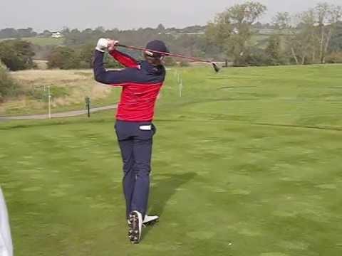 Donaldson Swing Jamie Donaldson Golf Swing