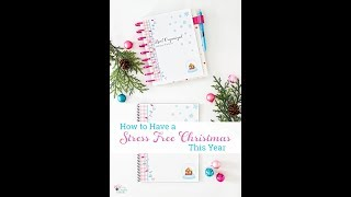 Real Organized Holiday Planner