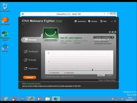 IObit Malware Fighter PRO 1.7.0.0 - Teste Completo