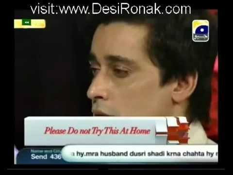 Parveen Nizami Showing Hamzad To Sahir Lodhi On Geo Tv. video
