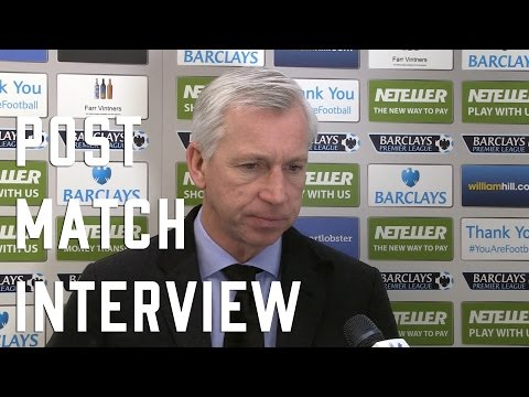 Alan Pardew Post Everton Interview