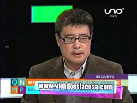 VICEPRESIDENTE DE CHINA CAMC  VALORA QUE GABRIELA ZAPATA TENGA DOS PROFESIONES AL MISMO TIEMPO