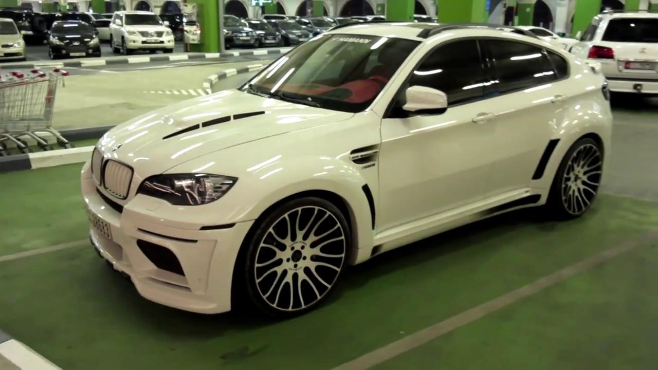 White Hamann Tycoon Evo Bmw X6 In Parking Youtube