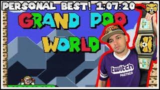 Grand Poo World Personal Best Speedrun! 1:07:20