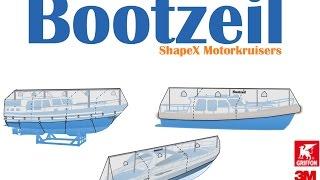 Motorkruiser: Installatie handleiding Bootzeil winterkleed, voor motorjacht