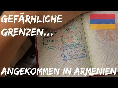 ILLEGALER GRENZÜBERTRITT AUF WELTREISE - WAS IST PASSIERT? | Armenien | BACKPACKING WELTREISE 050