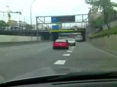 Dodge Viper Crash idiot