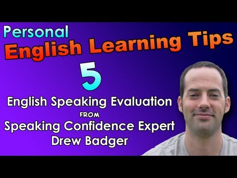 English Speaking & Fast Fluency Tips 5 – English Speaking Evaluation – English Listening Practice