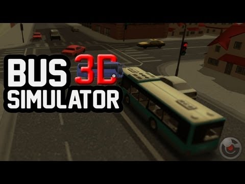 Bus Simulator 3D - iPhone/iPod Touch/iPad - Gameplay