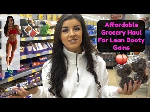 Grocery Haul For Lean Booty Gains   My Weekly Food Shop thumbnail