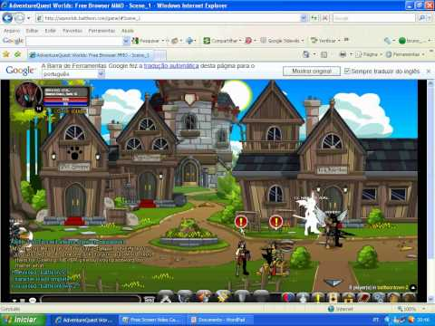 codigo secreto do AQW