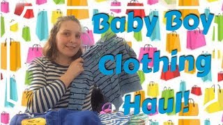 Baby/Toddler Boys Clothing Haul