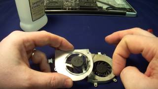 How to quickly fix laptop cooling fan and resume normal operation of the computer MAH02617