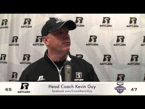 4-18-15; Arizona Rattlers / Portland Thunder Post Game Press- Coach Kevin Guy