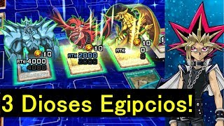 [Yu-Gi-Oh! Duel Links] 3 Dioses Egipcios