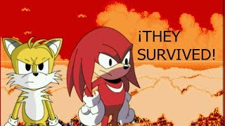 THE FULL VERSION OF SONIC.EXE SPIRITS OF HELL / Tails And Knuckles Survived