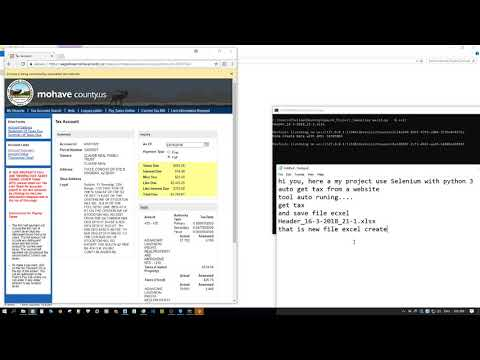 [ Project Scrap Data ] Example 1. Project use python3 with Selenium scrap a website
