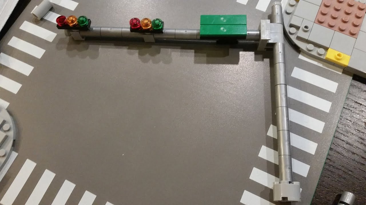 Brand New LEGO Traffic Lights My Own Creation
