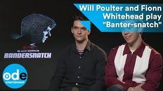 "Will Poulter and Fionn Whitehead play ""Banter-snatch"""