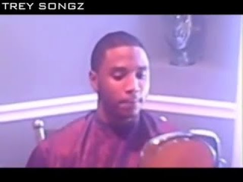 Trey Songz Getting a Haircut Video