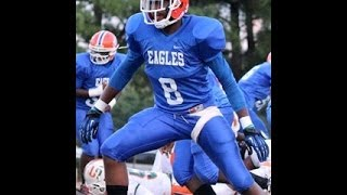 2015 WR/ATH Shadell Bell 2013 season highlight remix