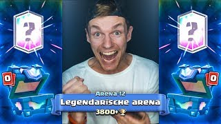 2 LEGENDARISCHE KAARTEN + ARENA 12 BEHAALD!! - Clash Royale #3