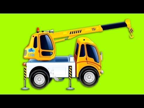 Обзоры мобильных игр - Подъёмный Кран - рабочие машины в Песочнице