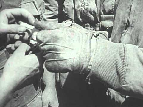 Castle Films News Parade 1943 Axis Smashed in North Africa