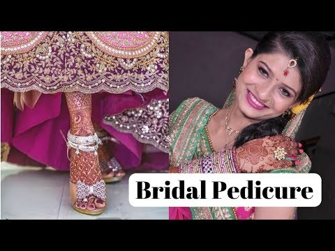 How to do Pedicure at home in Hindi/step by step pedicure/How To Give A Salon Perfect Pedicure