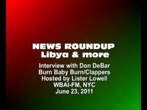 Don DeBar discusses Libya, Greece, Iran and other current events
