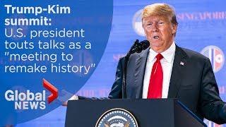 Trump-Kim summit: President Trump's FULL news conference