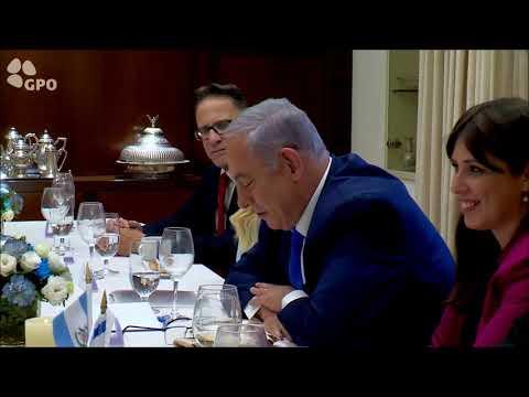 """רעיית רה""""מ גב' שרה נתניהו מארחת את רעיית נשיא גואטמלה גב' פטריסיה מוראלס"""