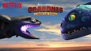 Dragones carrera al borde temporada 4 (capitulo 6 graves apuros) el submaridrestrozador salva a hipo