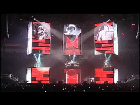 Muse - We Are The Universe + Uprising Live  Seattle Keyarena 2010 video