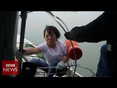 'we Were Told To Stay Still' Says South Korea Ferry Survivor - Bbc News video