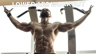 THE PERFECT LOWER ABS WORKOUT AT HOME(NO EQUIPMENT REQUIRED)-CORONA VIRUS LOCK-DOWN | OMER CHAUDHARY