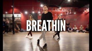 Download Lagu ARIANA GRANDE - Breathin | Kyle Hanagami Choreography Gratis STAFABAND