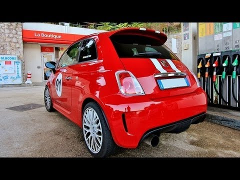 Marchettino S Abarth 500 Tunnel Explosions And Loud