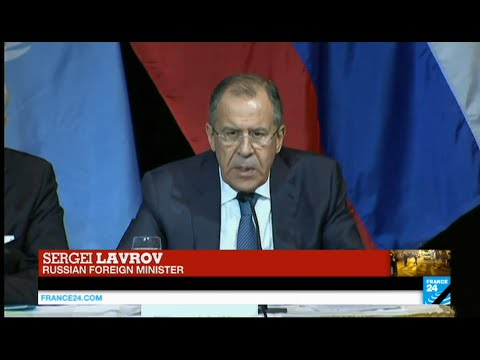 "Sergei Lavrov reacts to Paris attacks & insists on ""need for international coalition against ISIS"""
