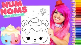 Download Song Coloring Num Noms Candie Puffs Coloring Page Prismacolor Pencils | KiMMi THE CLOWN Free StafaMp3
