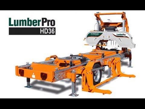 Norwood LumberPro HD36 Portable Sawmill - Part 2 (Fully Hydraulic Bandsaw Mill)