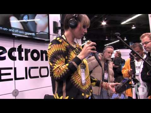VoiceLive Touch 2 demo: Georgia Murray (NAMM 2013)