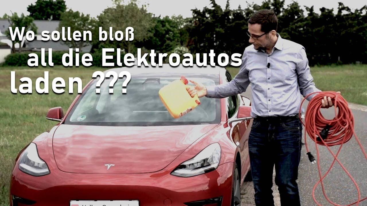Wo sollen bloß all die Elektroautos laden?