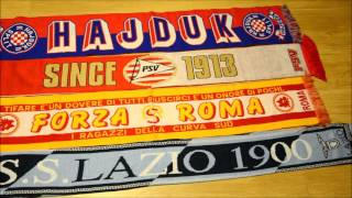 Collection of football scarves vol. 1